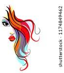 vector  stylish  original hand...   Shutterstock .eps vector #1174849462