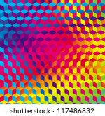 geometric gradient color...