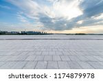 panoramic skyline and modern... | Shutterstock . vector #1174879978