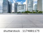 panoramic skyline and modern... | Shutterstock . vector #1174881175