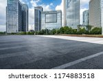 panoramic skyline and modern... | Shutterstock . vector #1174883518