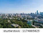 aerial view over the nanjing... | Shutterstock . vector #1174885825