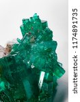 raw emerald and gemstone rough... | Shutterstock . vector #1174891735