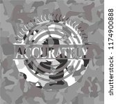 accurately on grey camouflage... | Shutterstock .eps vector #1174900888