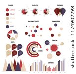 infographic elements  creative... | Shutterstock .eps vector #1174902298