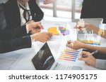 business people in the meeting...   Shutterstock . vector #1174905175