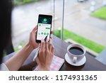 chiang mai  thailand   august... | Shutterstock . vector #1174931365