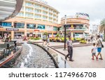 patong  thailand   9th august... | Shutterstock . vector #1174966708
