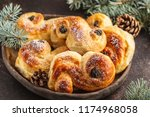 traditional swedish christmas...   Shutterstock . vector #1174968058