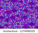 skyscrapers seamless pattern....   Shutterstock .eps vector #1174986535