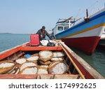 java  indonesia   circa 2018.... | Shutterstock . vector #1174992625