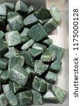 jade gem stone as natural... | Shutterstock . vector #1175000128