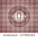 dead man in his coffin icon... | Shutterstock .eps vector #1175001202