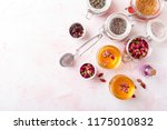 herbal tea made from dried rose ... | Shutterstock . vector #1175010832