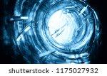 3d rendering of abstract... | Shutterstock . vector #1175027932