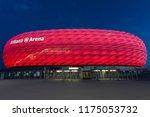 munich. germany. 08.03.16.... | Shutterstock . vector #1175053732