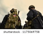 us soldiers equipment. us army.... | Shutterstock . vector #1175069758