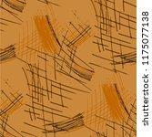 various pencil hatches.... | Shutterstock .eps vector #1175077138