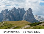 rugged mountain ranges in tre... | Shutterstock . vector #1175081332