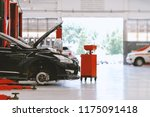 car repair station with soft... | Shutterstock . vector #1175091418