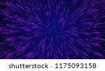 abstract circular speed... | Shutterstock . vector #1175093158