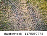 texture of paving stones on an... | Shutterstock . vector #1175097778
