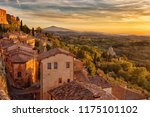 tuscany view from the walls of... | Shutterstock . vector #1175101102