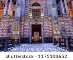 main entrance facade close up... | Shutterstock . vector #1175103652