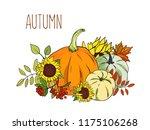 vector illustration set of... | Shutterstock .eps vector #1175106268