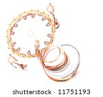 a fractal with a spiral or... | Shutterstock . vector #11751193