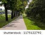 footpath in the park area | Shutterstock . vector #1175122792