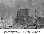 the texture of concrete was...   Shutterstock . vector #1175123695
