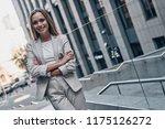 portrait of confidence.... | Shutterstock . vector #1175126272