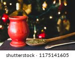 close up on yerba mate tea | Shutterstock . vector #1175141605