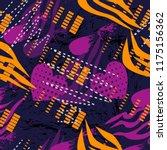 abstract seamless grunge sport... | Shutterstock .eps vector #1175156362