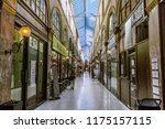 paris  france   august 4  2018  ... | Shutterstock . vector #1175157115