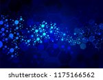 molecules concept of neurons... | Shutterstock .eps vector #1175166562