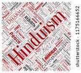 vector conceptual hinduism ... | Shutterstock .eps vector #1175166652