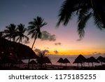 sun rising sky at koh tao... | Shutterstock . vector #1175185255