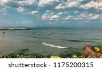 pomorie  bulgaria   september... | Shutterstock . vector #1175200315