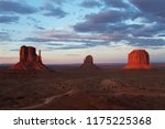 monument valley panorama at... | Shutterstock . vector #1175225368