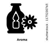 aroma icon vector isolated on... | Shutterstock .eps vector #1175230765