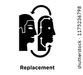 replacement icon vector... | Shutterstock .eps vector #1175236798