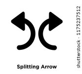 splitting arrow icon vector...