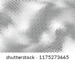abstract halftone wave dotted... | Shutterstock .eps vector #1175273665