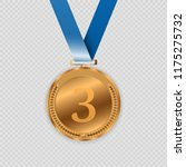 award medals isolated on... | Shutterstock .eps vector #1175275732