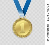 award medals isolated on... | Shutterstock .eps vector #1175275735