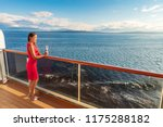 cruise luxury travel lifestyle... | Shutterstock . vector #1175288182