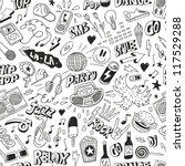 music   seamless background | Shutterstock .eps vector #117529288