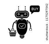 online customer service chatbot ... | Shutterstock .eps vector #1175297542